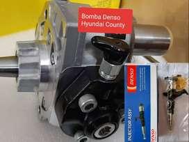 Hyundai County / HD72 / HD78 Diesel Bomba E Inyectores Denso  NISSAN NAVARA