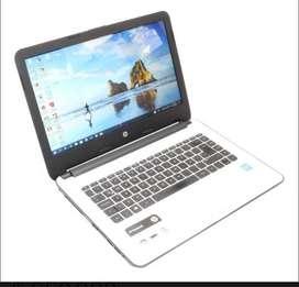 Se vende portatil HP notebook blanco