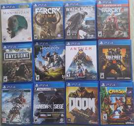 Juegos PS4 usados 22/09/2020