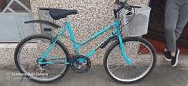 Bicicleta para mujer aro 24