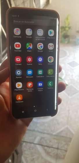 Samsung S8 Plus, en perfecto funcionamiento, solo detalle en hardware