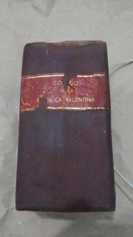 Códigos De La República Argentina Edicion 1928