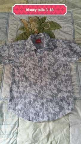Camisa de Niño Marca Disney