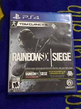 RAINBOWSIX PS4 - ORIGINAL
