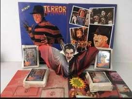 Album terror Figuras sueltas