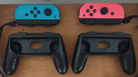 Controles Joy Con Nintendo Switch + Straps + Soportes