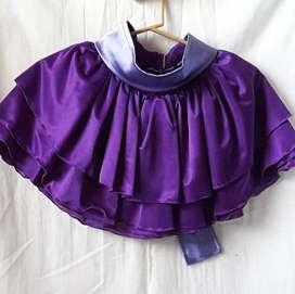Vendo disfraz pollera de nena+cinto