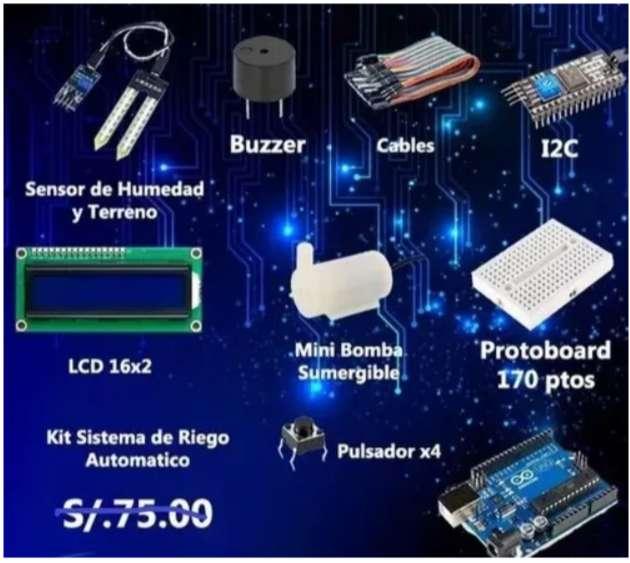 Super Kit Riego Automatico Con Arduino (2020) 0