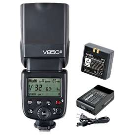 Flash Godox V850 Ii Kit Manual De Alta Velocidad 1/8000
