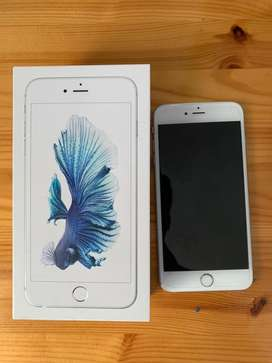Iphone 6s plus gris sin detalles