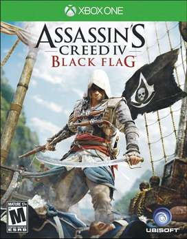 Assassins Creed 4 Black Flag Xbox One, Físico