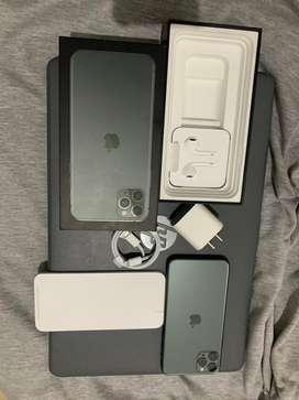 Vendo iPhone 11 Pro Max de 64 nuevo prácticamente