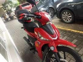 Moto Roja Nueva