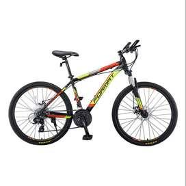 "Bicicleta FORMAT Jupiter Rin 26"" SHIMANO 24Vel Marco Aluminio"
