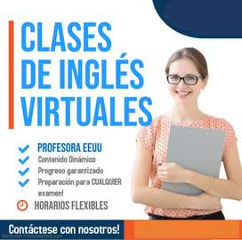 Estudia Inglés con Profesora Estadounidense