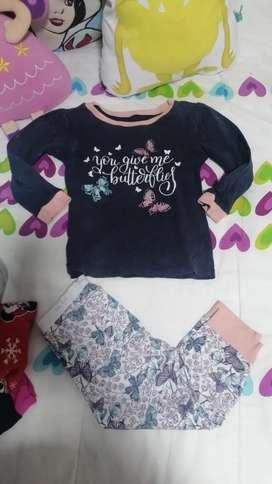 Linda ropa de niña