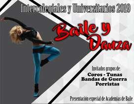 Participar enModelaje, Baile, Danzas, Futbol, Baloncesto, Voleibol