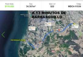 Venta Terreno Manta en Venta Ruta Spondylus Sector Las Cumbres