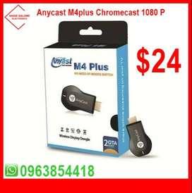 Anycast M4plus Chromecast 1080 P $24