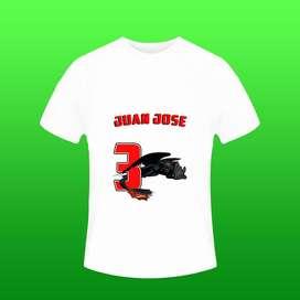 Camisetas Personalizadas Niño Chimuelo