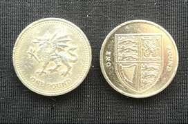 Monedas Reino Unido (Inglaterra)