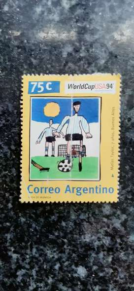 Vendo estampilla mundial usa 94