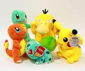 pokemones Pikachu Squirtle Charmander Bulbasaur