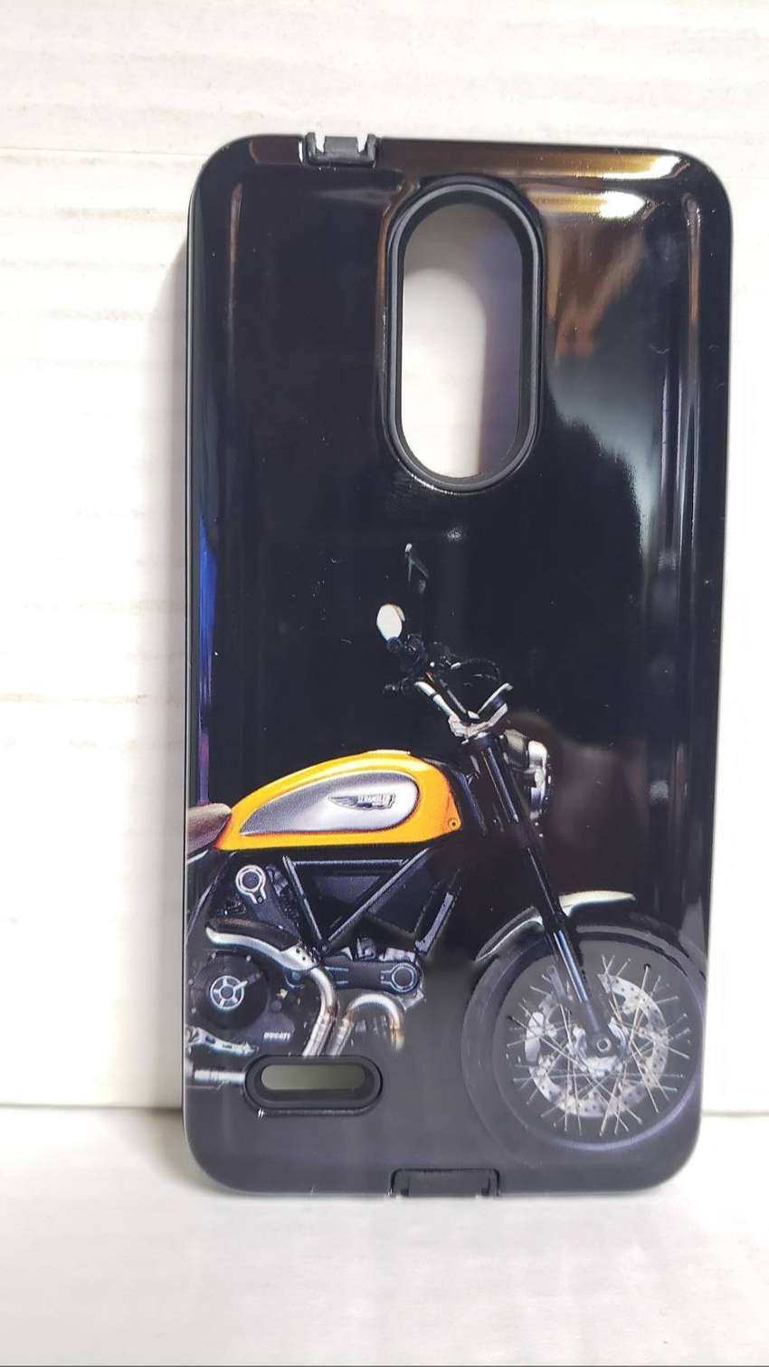 Funda protectora Reforzada Lg K9 Harley 0