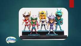 Caballeros del Zodiaco figuras billetera anime