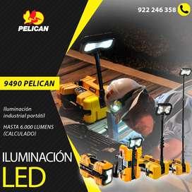 Iluminación led portátil para industrias