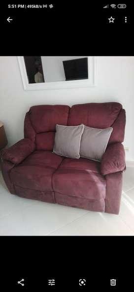 Reclinomatic sofa