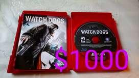 Vendo 4 video juegos PS3 Usados