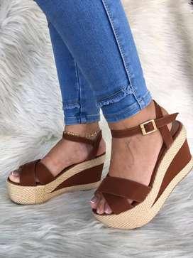 Sandalias Para Dama en Yute