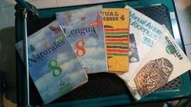 Lote de manuales escolares