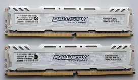 Memoria Ram Crucial DDR4 2400Mhz 16gb