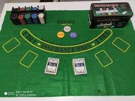 Set de poker Texas Holdem y Black Jack