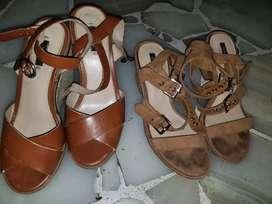 Vendo 2 pares de zapatos talla 37