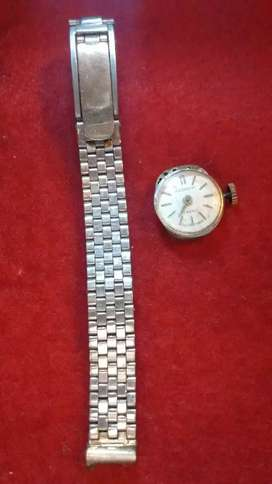 Cuadrante reloj Gold Matic antiguo