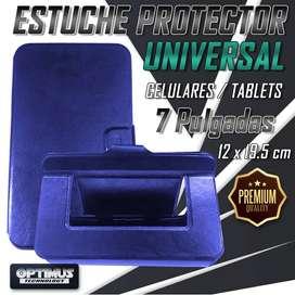 Forro Estuche Case Protector Universal para tablet de 7 Pulgadas 12 x 19.5 cm