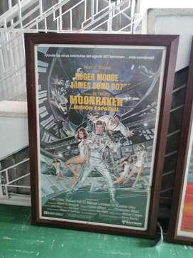 Afiches   películas Roger Moore clasicos