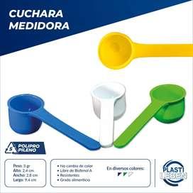 Cucharas Medidoras Plástico