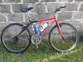 BICICLETA MOUNTAIN BIKE CON 3 CAMBIOS RODADO 26