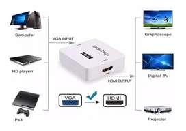 INCREIBLES CONVERTIDORES HMDI A VGA