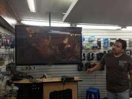 soporte para tv Acero soportes Curv, Led, LCD de 42 pulgas hasta 90