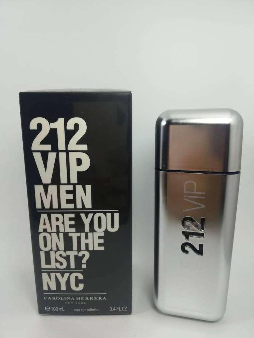 Perfume 212 Vip Men Carolina Herrera Para Hombre 0