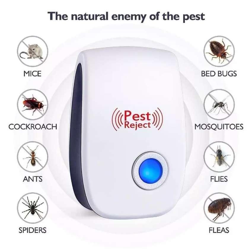 Repelente Electrónico Ultrasónico Para Plagas E Insectos