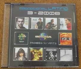 CD Universal Latino 2008