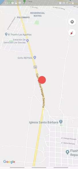 Venta de terreno, carretera central (margen derecha), Sicaya