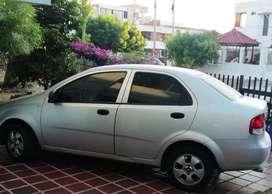 OPORTUNIDAD POR CIERRE DE AÑO!!  confortable chevrolet Aveo, modelo 2012, 4 puertas, trasmision mecanica