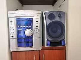 Equipo de sonido KENWOOD RXD553